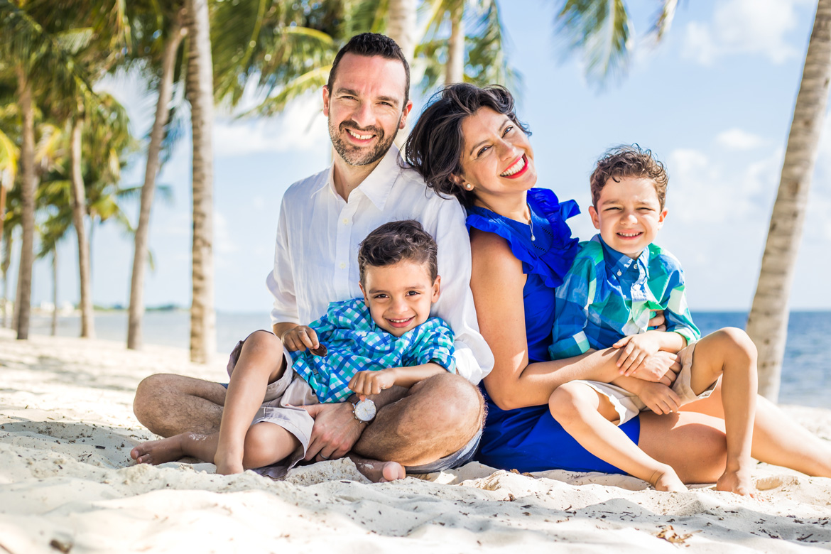 Lifestyle family photography on vacation