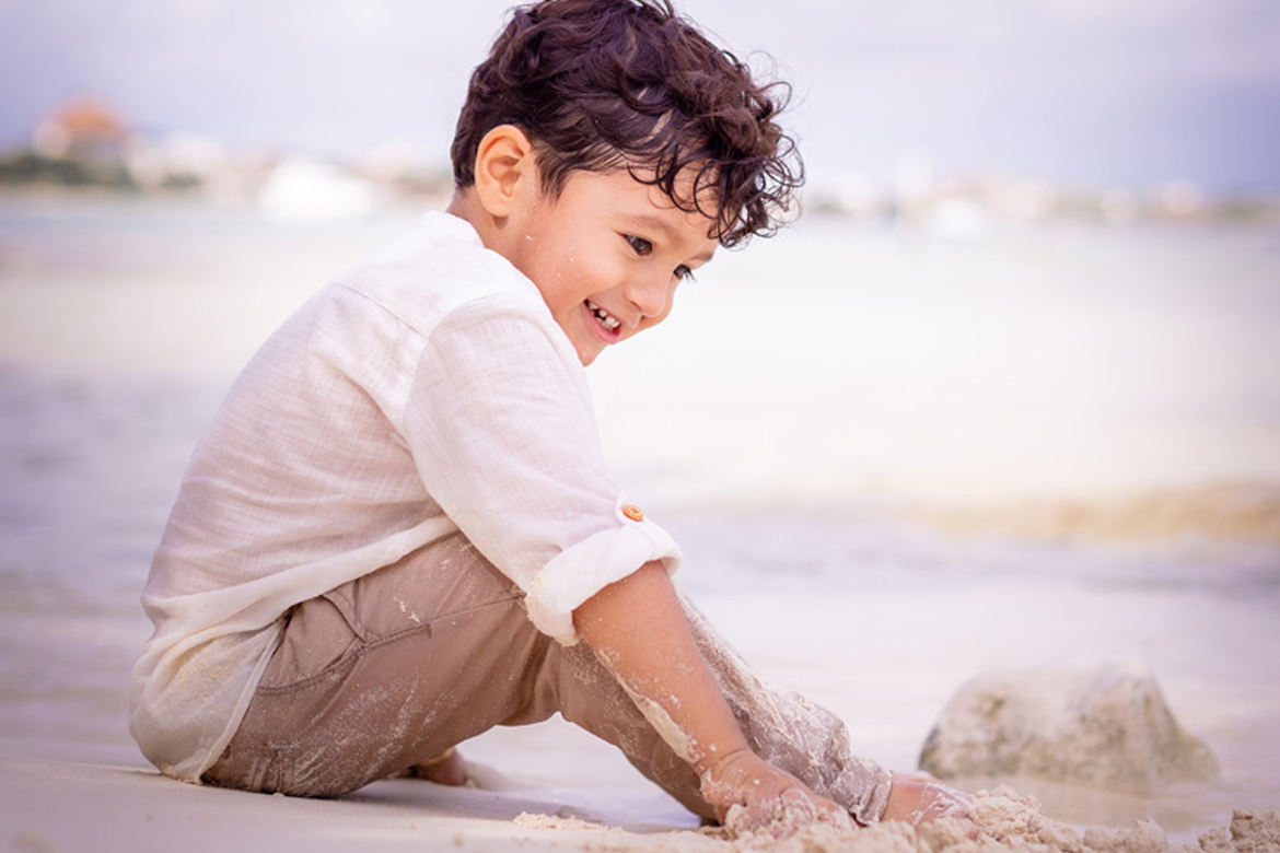 Kids portraits in Cancun by Adventure Photos