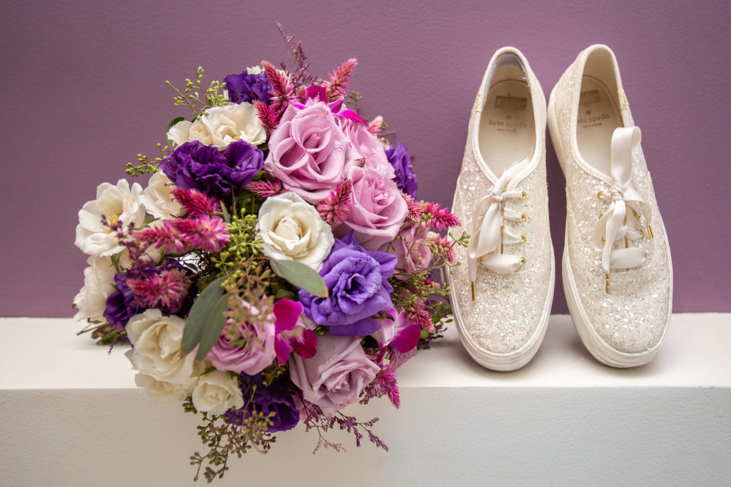 Comfortable & Sparkly Wedding Shoes