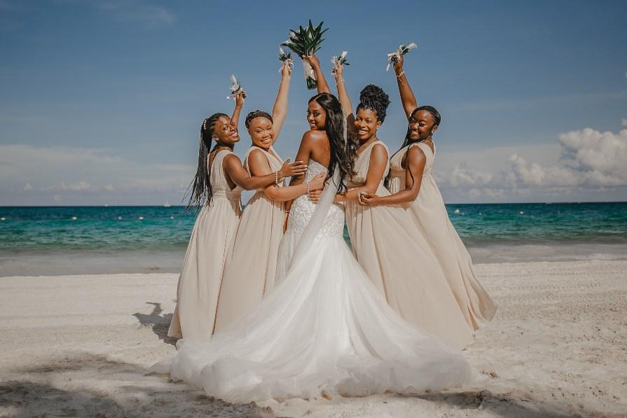 Beach Wedding - Destination Wedding Photography