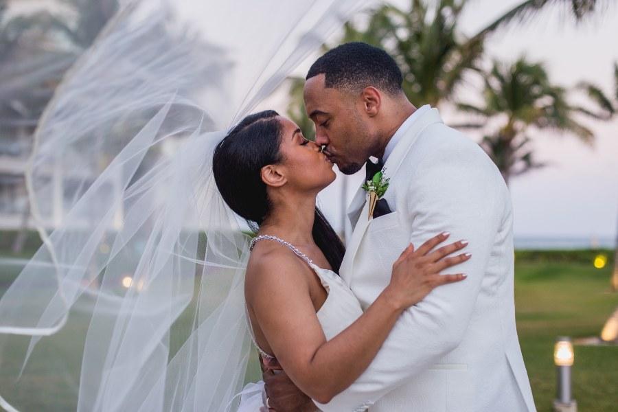 Bridal Portrait at Destination Wedding on Now Resort Photographed by Adventure Photos