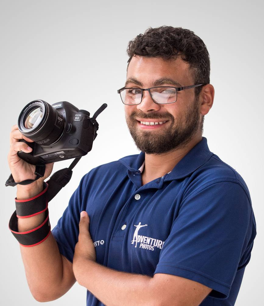 Experienced Destination Photographer from Adventure Photos at Now Resorts