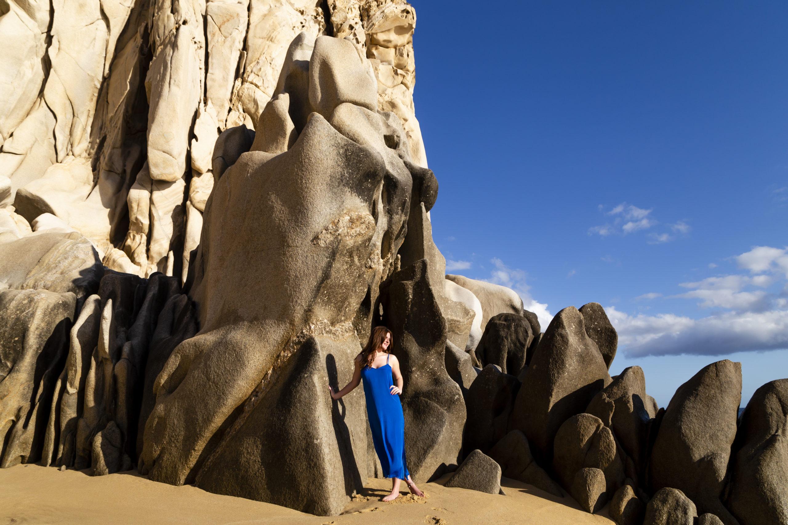 Sandy beach of Los Cabos