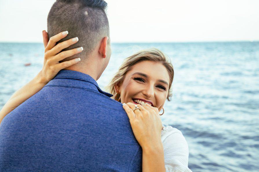 Beach resort couples photo shoot captured by Adventure Photos lifestyle photographers