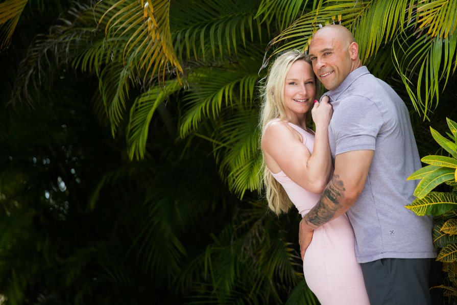 Romantic Honeymoon Photo from Lifestyle Photo Shoot at Secrets Cap Cana with Adventure Photos