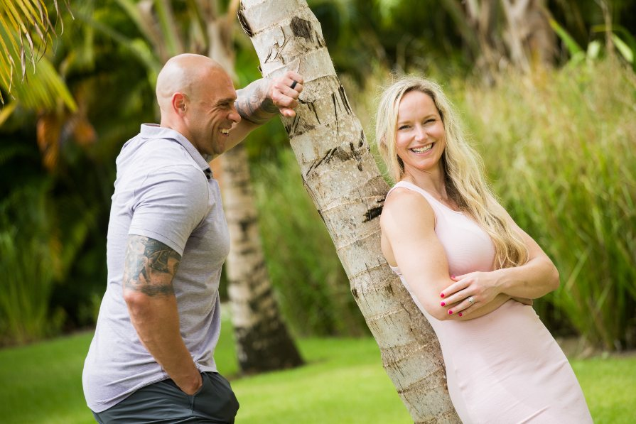 Lifestyle Photo Shoot of Couple During Honeymoon to Secrets Cap Cana by Adventure Photos