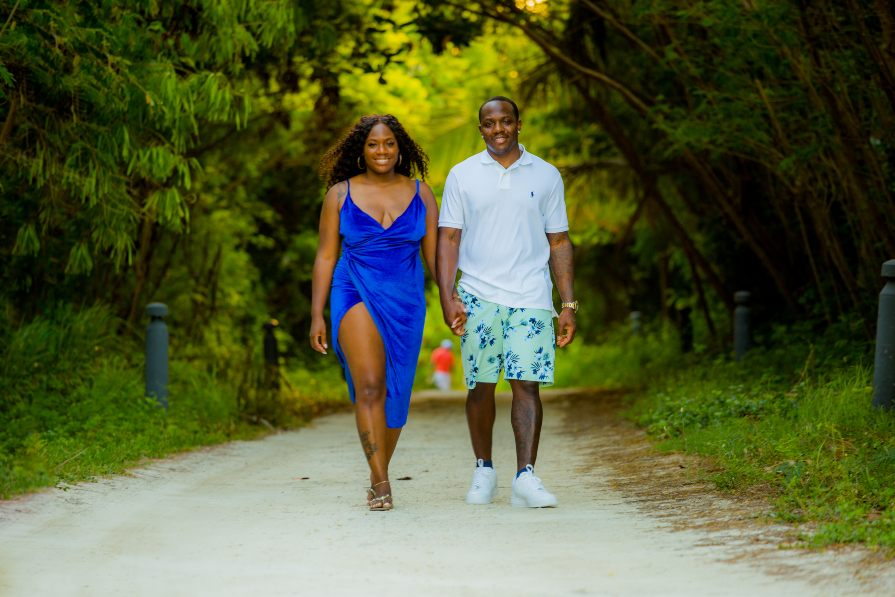 Candid Photo of Couple During Lifestyle Photo Session with Adventure Photos