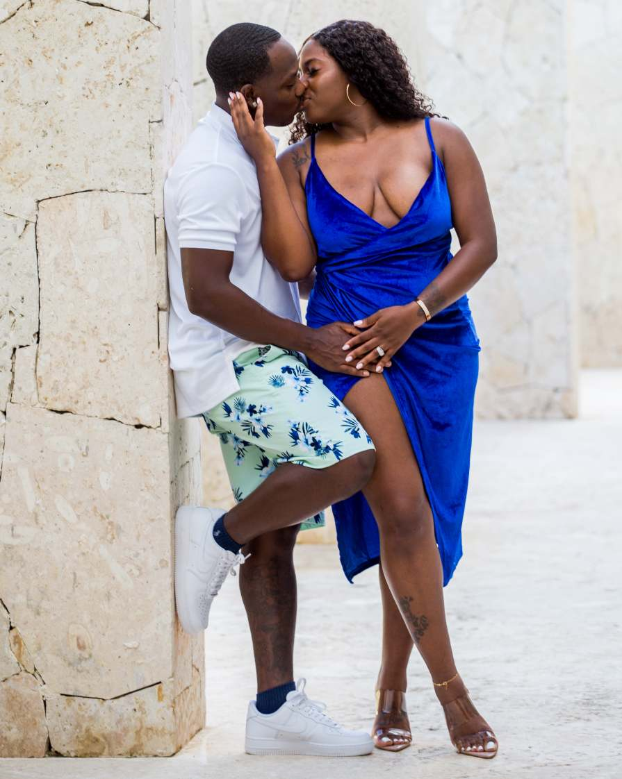 Couples Photo Shoot at Secrets Cap Cana Captured by Adventure Photos