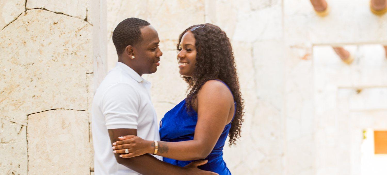 Vibrant Couples Photo Shoot at Secrets Cap Cana